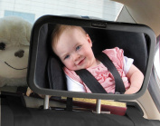 FuriAuto Back Seat Mirror Extra Large Baby Rear Seat Mirror
