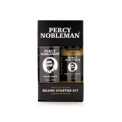 Beard Starter Kit, A Beard Oil & Beard Wash By Percy Nobleman