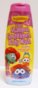 Very Berry 3-in-1, 400ml Bottle (VeggieTales) Shampoo, Conditioner, Body Wash