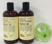 Coconut oil Nourishing Shampoo 470ml and Coconut oil Nourishing Conditioner 470ml dry, damaged hair.