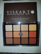 Viseart Professional Eyeshadow Palette VPE10 Warm Matte