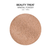 BEAUTY TREATS Mineral Powder Foundation 10ml with Brush and Mirror