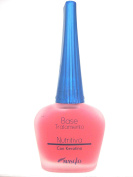 Masglo BASE NUTRITIVA Con Keratina Polish Nail Colour Esmalte de uñas -Thin Nails