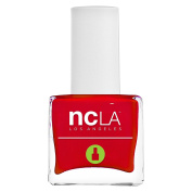 NCLA 7 Free Pressed Nail Lacquer Low Cal So Cal Red
