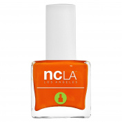 NCLA 7 Free Pressed Nail Lacquer 24 Carrots Orange