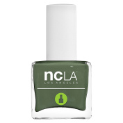 NCLA 7 Free Pressed Nail Lacquer Fairykale Ending Dark Green
