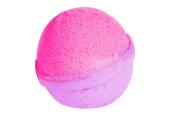 Rose & Jasmine Bath Bomb (130ml) - Handmade in USA - Ultra Lush Essential Oil - Organic, Vegan & Gluten Free - Fizzy & Colourful - Multi-Sensory Aromatherapy - Relaxation