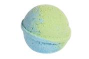 Eucalyptus Bath Bomb (130ml) - Handmade in USA - Ultra Lush Essential Oil - Organic, Vegan & Gluten Free - Fizzy & Colourful - Multi-Sensory Aromatherapy - Relaxation