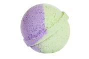 Rosemary Bath Bomb (130ml) - Handmade in USA - Ultra Lush Essential Oil - Organic, Vegan & Gluten Free - Fizzy & Colourful - Multi-Sensory Aromatherapy - Relaxation