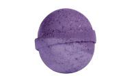 Lavender Bath Bomb (130ml) - Handmade in USA - Ultra Lush Essential Oil - Organic, Vegan & Gluten Free - Fizzy & Colourful - Multi-Sensory Aromatherapy - Relaxation