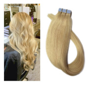 Mario Hair Tape in Hair Extensions Human Hair Extensions Silky Straight Skin Soft Weft Human Remy Hair