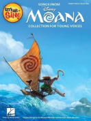 LET'S ALL SING SONGS FROM MOANA PIANO/VOCAL COLLECTION BOOK