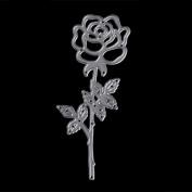 Bottone Rose Metal Cutting Dies Stencils Scrapbooking Embossing Album Paper Card Craft DIY Gift