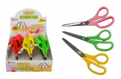 Diamond Visions 04-1120 22cm Multi Purpose Neon Handle Scissors Multipack