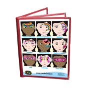 Face Painting Design Menu - Girls