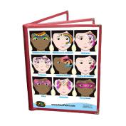 Face Painting Design Menu - Girls