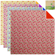 26cm Square Jumbo Emboss Pattern double sided printing Origami Paper