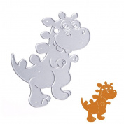 JUA PORROR DIY Dinosaur Cutting Dies Stencils Scrapbook Album Paper Card Embossing Craft