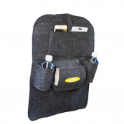 Fullkang Car Auto Seat Back Multi-Pocket Storage Bag Organiser Holder Hanger