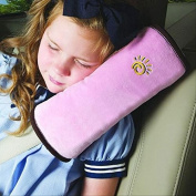 Baby Children Safety Strap Car Seat Belts Pillow Shoulder Protection Top Quality Micro-suede Fabric Car-Styling