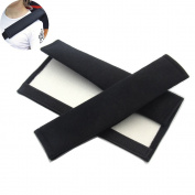 BoNaYuanDa 2pcs Car Safety Seat Belt Shoulder Pad Covers
