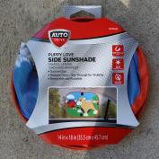 Auto Drive PUPPY LOVE Side Window Sunshade - Universal Fit