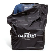Car Seat Travel Bag by Plane Jane- For Airline Gate Cheque with Shoulder Strap and Durable Nylon