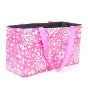 Kangkang@ Floral Pattern Outdoor Travel Portable Mummy Mother Baby Nappy Nappy Storage Organiser Holder Tote Bag Handbag Cosmetic Bag