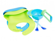 Roo Threads Silicone Baby Bib Set