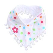 Doober Baby Girls Boy Kids Saliva Towel Bandana Dribble Triangle Bibs Infant Head Scarf
