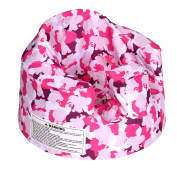 Bumbo Floor Seat Cover, Pink Camouflage