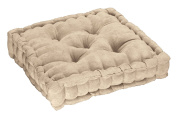Tufted Booster Cushion, Natural