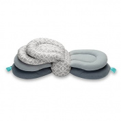 Hiltow Elevate Adjustable Nursing Pillow, Grey