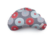 LittlebeamUS Nursing Cotton Cushion Pillow with Machine Washable Cover, Floral Medallions