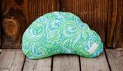 Littlebeam Nursing Pillow - Green Paisley