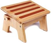 My Brest Friend Adjustable Nursing Stool, Wood