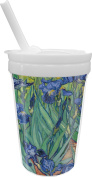 Irises (Van Gogh) Sippy Cup with Straw