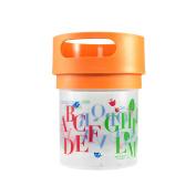 Munchie Mug Snack Cup 470ml Orange ABC