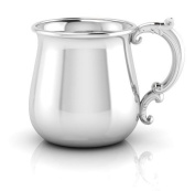 Krysaliis Sterling Silver Baby 150ml Traditional Bulge Victorian Cup