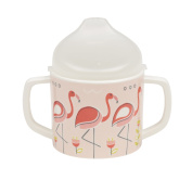 Sugarbooger Sippy Cup, Flamingo