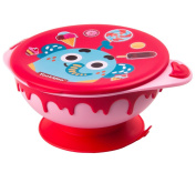 BYP Baby Feeding Bowl With Lid Suction Cup Stainless Steel Bowl Toddler Tableware