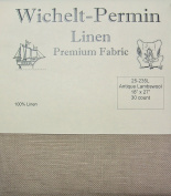 Wichelt Permin 100% Linen Antique Lambswool 30 Ct 46cm x 70cm Cross Stitch Fabric