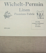 Wichelt Permin 100% Linen Antique Lambswool 30 Ct 46cm x 70cm Cross Stitch Fabric