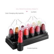 Latest 12 mini rouge matte lipsticks set contains 9 lipstick and 3 lip moisture balm pack