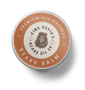 King David's Premium All Natural Beard Balm Argan Oil, Shea Butter 60ml