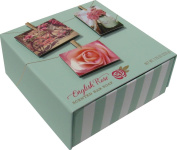 Commonwealth English Rose Pink Round Soap Bar 230ml