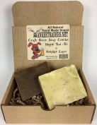 Craft Beer Soap Combo, Hoppin Mad Ale & Pumpkin Lager. All Natural, Vegan, Handmade / 2, 120ml Bars