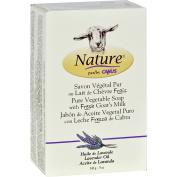 Nature By Canus Bar Soap - Goats Milk - Lavender Oil - 150ml -