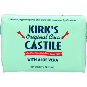 Kirks Natural Bar Soap - Coco Castile - Aloe Vera - 120ml -