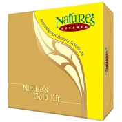 Nature's Essence Mini Gold Home Facial Kit by Divya Yog Mandir (Trust) - Swami Ramdev Ji